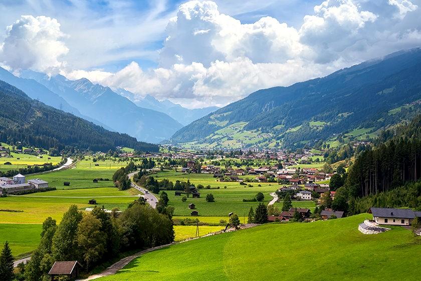 Ansicht Bundesland in Österreich